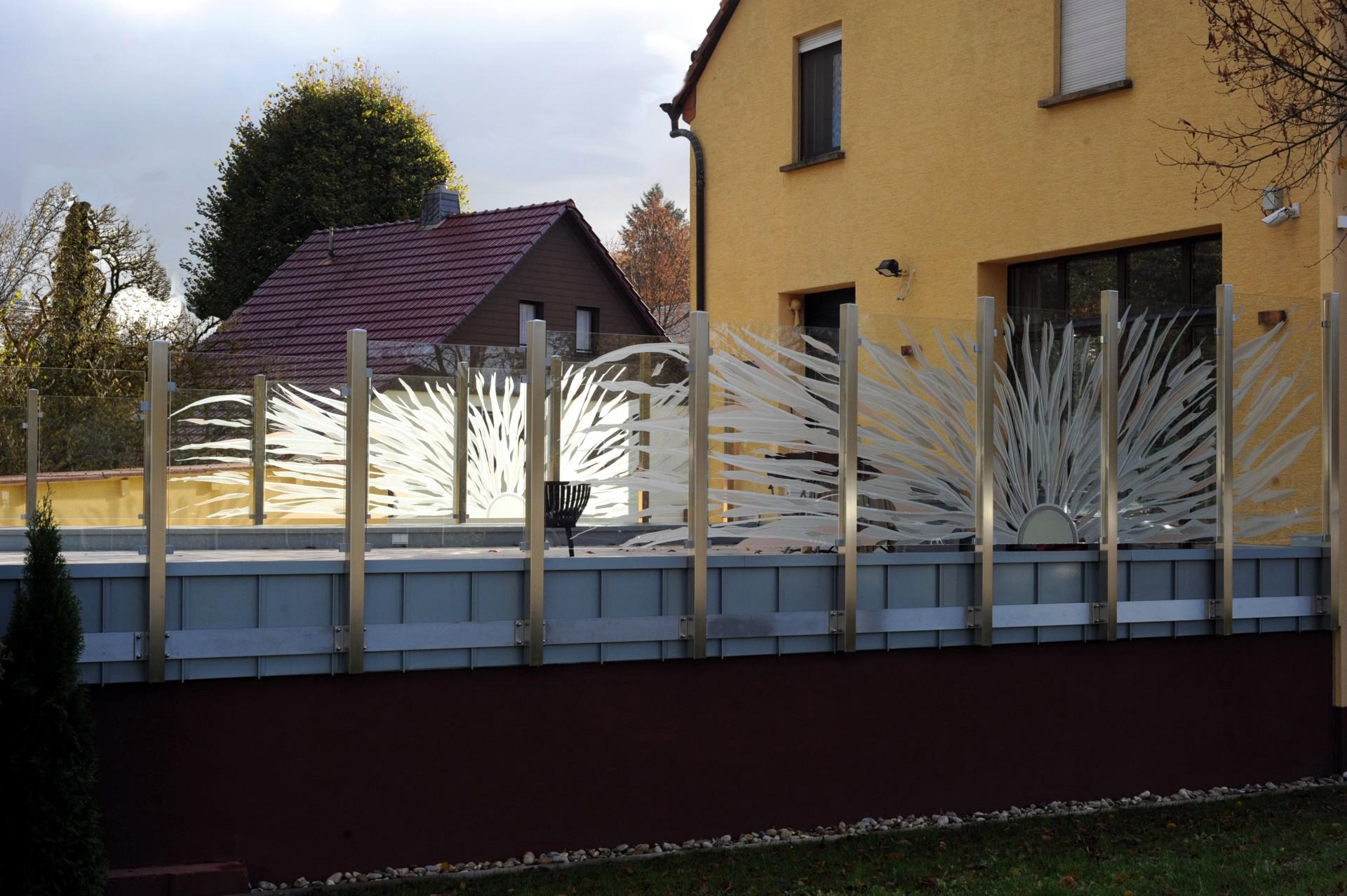 Sichtschutz Balkon Stoff Grau ~ Innenräume und Möbel Ideen